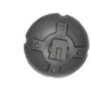Warhammer 40k Bitz: Adeptus Mechanicus - Onager Dunecrawler - Accessory C4 - Data Tether, Radar Antenna