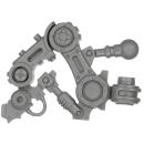 Warhammer 40k Bitz: Adeptus Mechanicus - Onager Dunecrawler - Leg A1