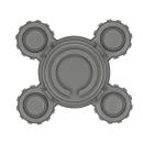 Warhammer 40k Bitz: Adeptus Mechanicus - Onager Dunecrawler - Leg G3 - Center III