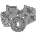 Warhammer 40k Bitz: Adeptus Mechanicus - Onager Dunecrawler - Torso A1 - Roof