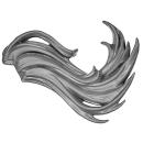 Warhammer AoS Bitz: DUNKELELFEN - 004 - Hexenkriegerinnen - Haar D2 - Links