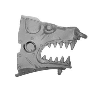 Warhammer AoS Bitz: CHAOS - 012 - Skullcrushers - Head J1 - Juggernaut, Right
