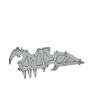 Warhammer 40k Bitz: Chaos Space Marines - Raptoren/Warpkrallen - Accessoire B2