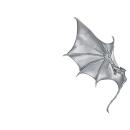 Warhammer 40k Bitz: Dark Eldar Harpyien Flügel B1 - Rechts