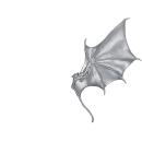Warhammer 40k Bitz: Dark Eldar Harpyien Flügel B2 - Links