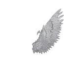 Warhammer 40k Bitz: Dark Eldar Harpyien Flügel E1 - Rechts