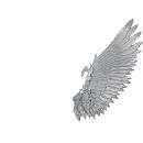 Warhammer 40k Bitz: Dark Eldar Harpyien Flügel E2 -...