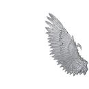 Warhammer 40k Bitz: Dark Eldar Harpyien Flügel E2 - Links