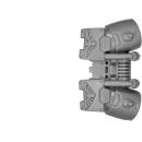 Warhammer 40k Bitz: Space Marines - Expugnatorgarde-Trupp - Accessoire D1 - Sprungmodul, Front