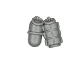 Warhammer 40K Bitz: Dark Angels - Ravenwing Command Squad - Accessory J - Grenades