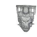 Warhammer 40k Bitz: Orks - Orkbosse - Torso C1 - Front III
