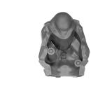 Warhammer 40k Bitz: Astra Militarum - Bullgryns, Ogryns, Nork Deddog - Torso B2 - Back II