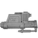 Warhammer 40k Bitz: Astra Militarum - Bullgryns, Ogryns, Nork Deddog - Waffe E2 - Granatenfaust, Rechts II
