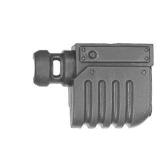 Warhammer 40k Bitz: Astra Militarum - Bullgryns, Ogryns, Nork Deddog - Waffe G5 - Mündung I