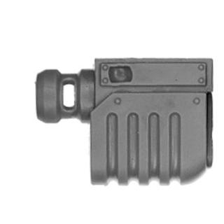 Warhammer 40k Bitz: Astra Militarum - Bullgryns, Ogryns, Nork Deddog - Waffe H5 - Mündung II