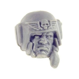 Warhammer 40k Bitz: Imperial Guard - Cadian Shock Troops - Head C