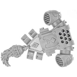 Warhammer 40k Bitz: Space Wolves - Space Wolves Rudel - Rückenmodul A