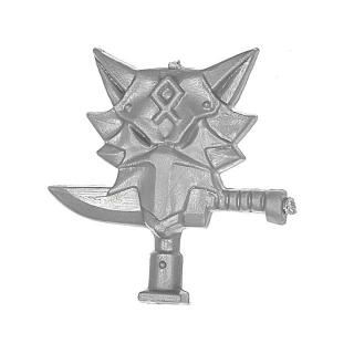 Warhammer 40k Bitz: Space Wolves - Space Wolves Rudel - Rückenmodul Ikone C