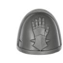 Warhammer 40k Bitz: Deathwatch - Kill Team - Shoulder Pad K - Iron Hands