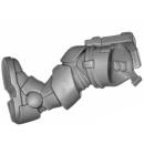 Warhammer 40k Bitz: Space Marines - Primaris Reivers - Torso B03 - Bein, Rechts