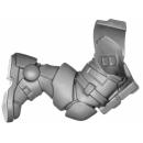 Warhammer 40k Bitz: Space Marines - Primaris Reivers - Torso B04 - Bein, Links