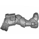 Warhammer 40k Bitz: Space Marines - Primaris Reivers - Torso C03 - Bein, Rechts