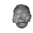 Warhammer 40k Bitz: Space Marines - Primaris Intercessors - Kopf A