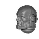 Warhammer 40k Bitz: Space Marines - Primaris Intercessors - Head H