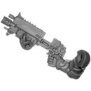 Warhammer 40k Bitz: Space Marines - Primaris Intercessors - Torso A7 - Rechts, Boltgewehr