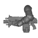 Warhammer 40k Bitz: Space Marines - Primaris Intercessors - Torso G1 - Links, Sturmboltgewehr