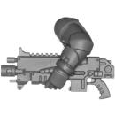 Warhammer 40k Bitz: Space Marines - Primaris Intercessors - Torso H1 - Links, Boltgewehr
