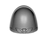 Warhammer 40k Bitz: Space Marines - Primaris Intercessors - Accessoire D6 - Schulterpanzer