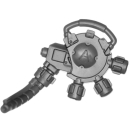 Warhammer 40k Bitz: Space Marines - Primaris Hellblasters - Torso A7 - Heavy Plasma Incinerator, Modul