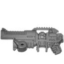 Warhammer 40k Bitz: Space Marines - Primaris Hellblasters - Torso B7 - Plasma Incinerator