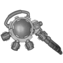 Warhammer 40k Bitz: Space Marines - Primaris Hellblasters - Torso B8 - Heavy Plasma Incinerator, Modul