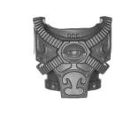 Warhammer 40k Bitz: Chaos Space Marines - Rubric Marines - Torso C2 - Front