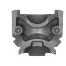 Warhammer 40k Bitz: Chaos Space Marines - Rubric Marines - Torso C4 - Front