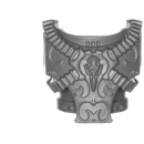 Warhammer 40k Bitz: Chaos Space Marines - Rubric Marines - Torso C5 - Front