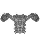 Warhammer 40k Bitz: Chaos Space Marines - Rubric Marines - Rückenmodul H