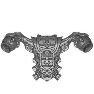 Warhammer 40k Bitz: Chaos Space Marines - Rubric Marines - Rückenmodul I