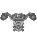 Warhammer 40k Bitz: Chaos Space Marines - Rubric Marines - Rückenmodul J