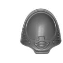 Warhammer 40k Bitz: Chaos Space Marines - Rubric Marines - Schulterpanzer B