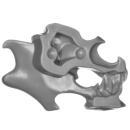 Citadel Bitz: Skulls for Warhammer AoS & 40k - Skull C02 - Left