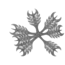 Citadel Bitz: Barbed Bracken - Plant A02 - Medium