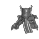 Warhammer 40k Bitz: Chaos Space Marines - Tzaangors - Torso C3 - Front