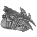 Warhammer 40k Bitz: Chaos Space Marines - Tzaangors - Head G