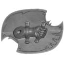 Warhammer 40k Bitz: Chaos Space Marines - Tzaangors - Waffe B1 - Links, Schild