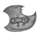 Warhammer 40k Bitz: Chaos Space Marines - Tzaangors - Waffe B3 - Links, Schild