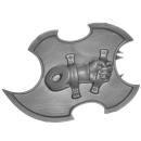 Warhammer 40k Bitz: Chaos Space Marines - Tzaangors - Waffe B4 - Links, Schild