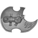 Warhammer 40k Bitz: Chaos Space Marines - Tzaangors - Waffe B5 - Links, Schild